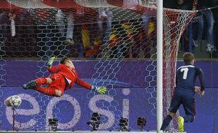 Antoine Griezmann a ouvert son compteur face au Barça