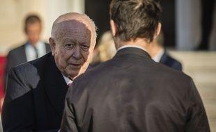 Le maire de Marseille Jean-Claude Gaudin.