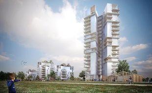 L'immeuble Chromosome sera construit dans le quartier Beauregard et sera haut de 19 étages.