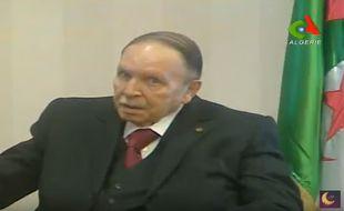 Abdelaziz Bouteflika est apparu à la télévision le 19 mars 2017.