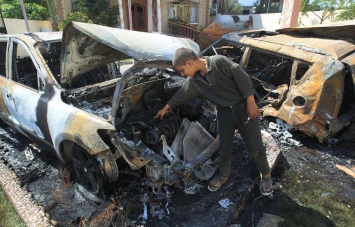 Le Hamas au pouvoir à Gaza a annoncé mercredi qu'il acceptait une trêve avec Israël après une flambée de violences qui a entraîné la mort de huit Palestiniens victimes de raids aériens israéliens dans le territoire en 72 heures. – Mahmud Hams afp.com