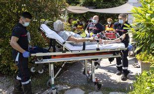 Une intervention pour un infarctus dans les Alpes-Maritimes en juin 2021 (illustration)