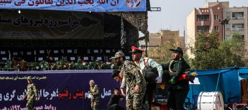 Au moins 24 personnes ont été tuées samedi 22 septembre 2018 dans le sud-ouest de l'Iran dans une attaque contre un défilé militaire revendiquée par Daesh.