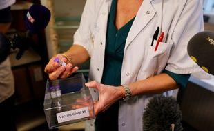 Des vaccins contre le Covid-19, à l'hôpital de Sevran le 27 décembre 2020.
