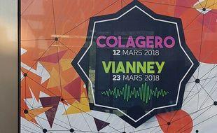 Mais qui est donc ce Colagero, dont le concert est annoncé sur les rames du tramway niçois ?