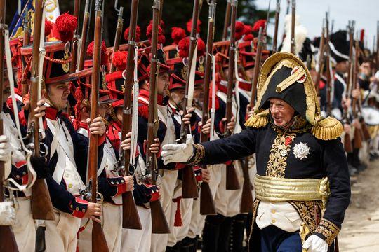 Une reconstitution en 2016 du siège de Burgos, en Espagne, qui a opposé en septembre et octobre 2012 les troupes napoléoniennes dirigées par le général Dubreton à l'armée anglo-portugaise.