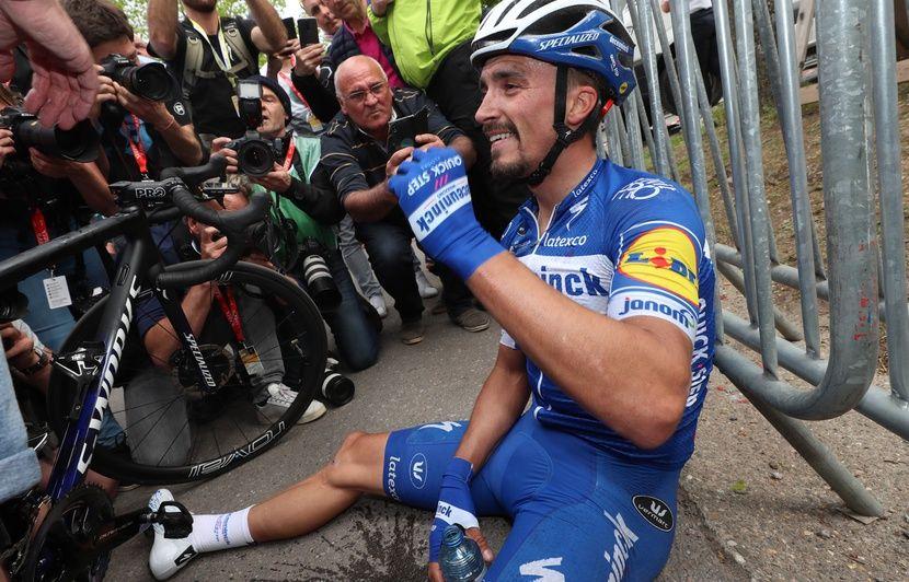 C'est qui le patron?: Julian Alaphilippe remporte sa deuxième Flèche Wallonne d'affilée