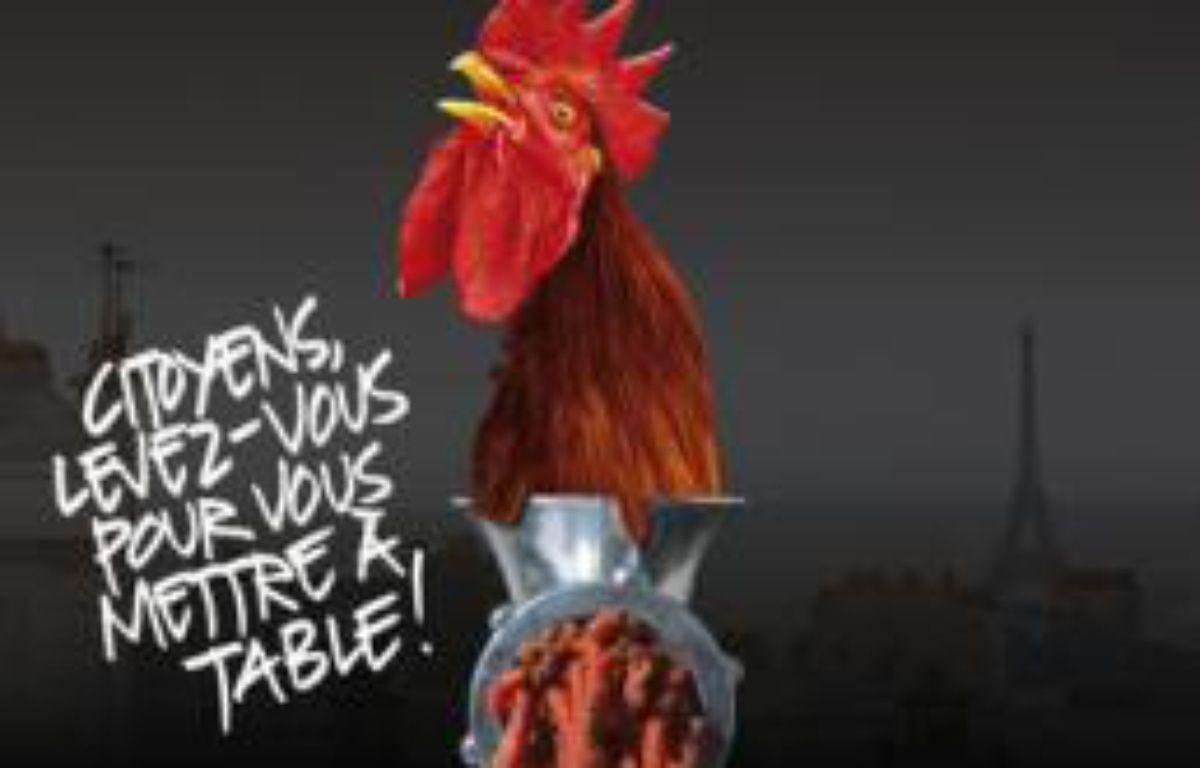 """L'affiche du film """"République de la malbouffe"""". – DR"""