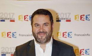 Après France TV, Bruce Toussaint arrive sur franceinfo à la rentrée 2017.