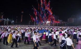 Célébrations à Pyongyang en Corée du Nord le 6 juillet