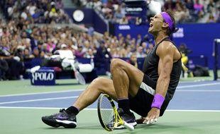 Nadal après sa victoire à l'US open 2019