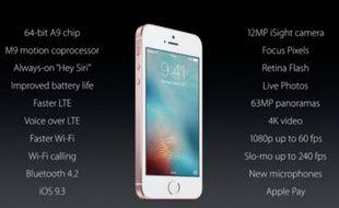 Le nouvel iPhone SE aura (presque) tout de l'iPhone 6.