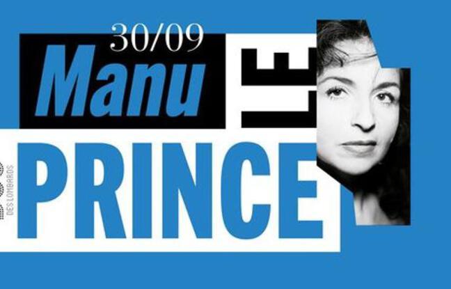 Visuel officiel du concert de Manu Le Prince