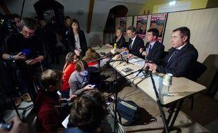 Manuel Valls dans le Doubs, le 27 janvier 2015