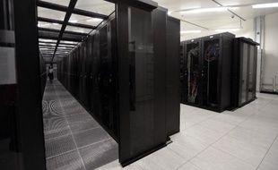 Des serveurs internet à Saint-Denis, près de Paris, le 17 septembre 2013