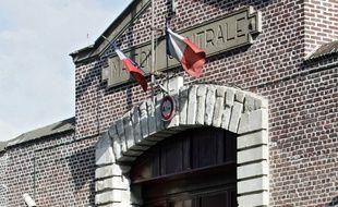 L'entrée de la maison d'arrêt de Loos, près de Lille.