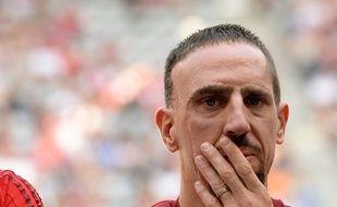 Franck Ribéry, le 11 juillet 2015, à Munich.