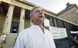 José Bové, hier, au tribunal de Bordeaux.