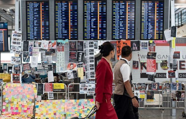 Hong Kong: Retour au calme à l'aéroport après deux jours de mobilisation