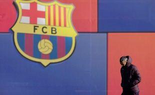 L'actuel entraîneur du FC Barcelone, Ernesto Valverde, le 09 décembre 2019.