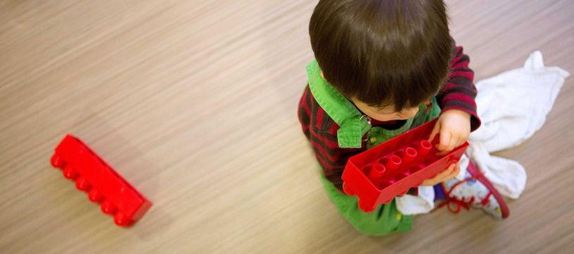 Image d'illustration d'un enfant à la crèche.