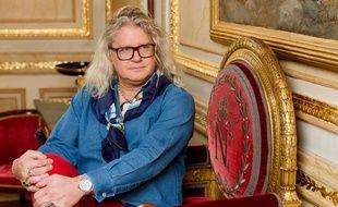 Pierre-Jean Chalençon chez lui au Palais Vivienne à Paris le 15 décembre 2020.