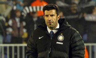 L'ancien joueur du Real et de l'Inter Milan Luis Figo, en 2012