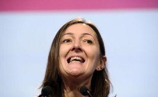 La députée Karine Berger, le 27 octobre 2012,à une convention du PS, à Paris.