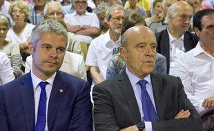 Laurent Wauquiez et Alain Juppé ne partiront sûrement pas ensemble en vacances.