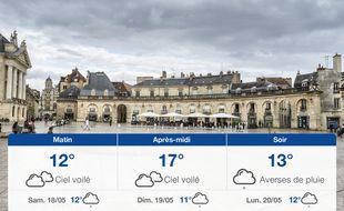Météo Dijon: Prévisions du vendredi 17 mai 2019