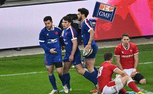 Les Bleus ont battu le pays de Galles à la dernière minute lors du Tournoi des VI Nations, le 20 mars 2021.