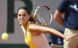 Amandine Hesse à Roland Garros le 27 mai 2015.