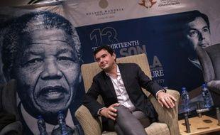 L'économiste français Thomas Piketty, le 1er octobre 2015 à Johannesburg