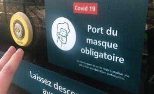 Le port du masque est obligatoire dans le tramway comme dans tous les transports en commun.