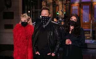 Miley Cyrus et Elon Musk aux répétitions de «Saturday Night Live».