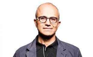 Satya Nadella, le vice-président de Microsoft en charge de la division cloud et entreprise.