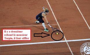 Alerte scandale à Roland-Garros.