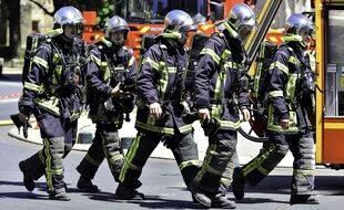 Des pompiers, ici à Nantes. (archives)