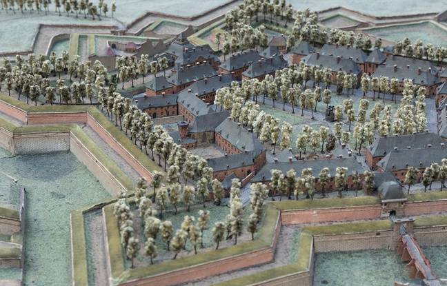 Plan relief de Tournai