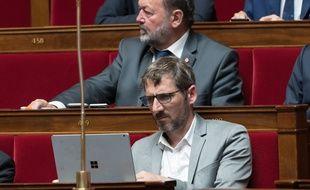Le député Matthieu Orphelin à l'Assemblée le 15 mai 2018.