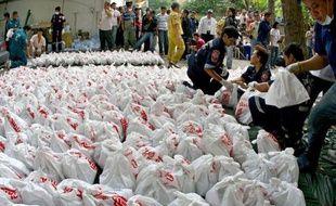 Quelque 1.700 foetus humains, provenant vraisemblablement de cliniques d'avortement illégales, ont été découverts vendredi dans un temple bouddhiste du centre de Bangkok, a annoncé la police, qui fouille cet édifice depuis plusieurs jours.