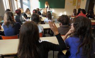 Rentrée scolaire au lycée Fustel de Coulanges (Archives)