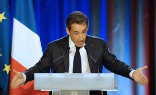 Nicolas Sarkozy à Nancy, le 3 novembre 2014.