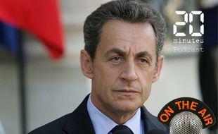 Nicolas Sarkozy, alors président de la République, le 30 septembre 2011 à l'Elysée