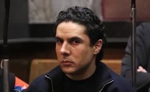Mehdi Nemmouche lors de son procès en Belgique.
