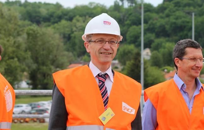 Alain Autruffe, directeur territorial SNCF Réseau en Aquitaine-Limousin-Poitou-Charentes