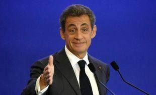 Nicolas Sarkozy le 9 mars 2016 à Paris