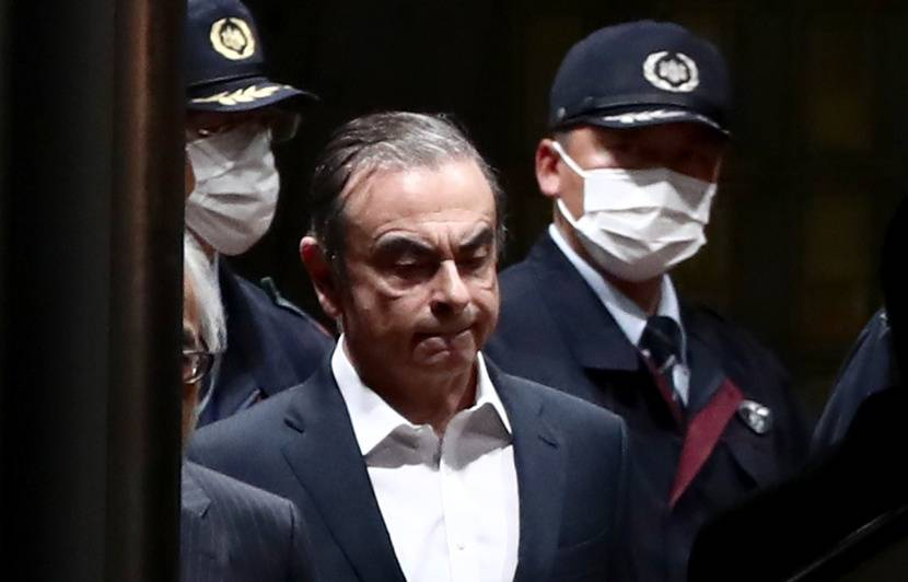 Affaire Carlos Ghosn: L'ancien PDG de Renault a quitté le centre de détention de Tokyo