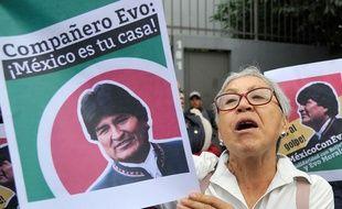Soutien mexicain au président Evo Morales