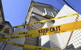 La maison de Takahiro Shiraishi, où 9 corps avaient été retrouvés.